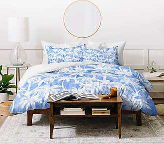 Deny Designs Stacey Schultz Circle World Blue Fleece Throw Blanket 60 X 80 Throws Bedding