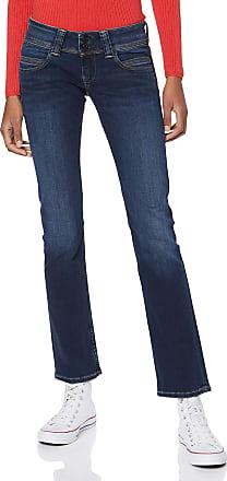 Pepe Jeans London Womens Venus Trouser, Blue 10Oz Stretch Ultra Dk, 31W / 30L