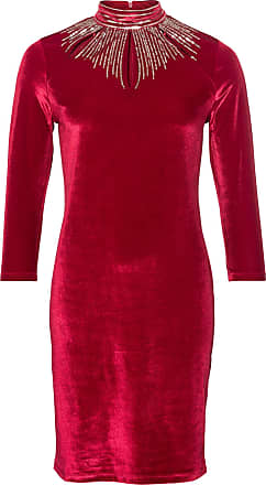BODYFLIRT boutique Dam Festklänning i röd lång ärm - BODYFLIRT boutique 3dc960a74b581
