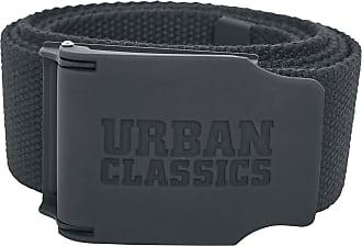 Urban Classics UC Canvas Belt Checkerboard 150cm Gürtel schwarz//weiß