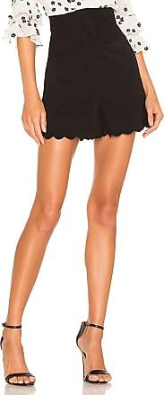 Rebecca Taylor Scallop Short in Black
