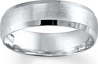 Kay Jewelers Mens Wedding Band 10K White Gold 6mm