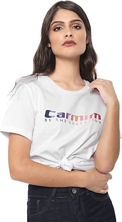 Carmim Camiseta Carmim Gradient Branca