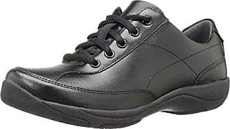 Dansko Womens Emma Flat, Black Leather, 37 EU/6.5-7 M US