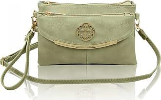 LeahWard Womens Cross Body Bags 111 (Fresh Mint)