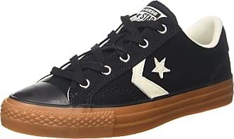Converse Lifestyle Star Player Ox Canvas, Unisex Adults Fitness Shoes, Black (Black/Egret/Honey 001), 4 UK (36.5 EU)