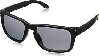 Oakley Mens Holbrook Non-Polarized Iridium Square Sunglasses, Matte Black, 57 mm