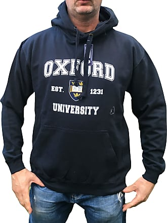 Oxford University Printed Hoody - Official Licenced Apparel Grey