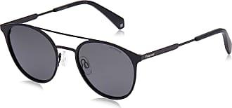 Polaroid Unisexs PLD 2052/S M9 807 51 Sunglasses, Black/Grey Pz
