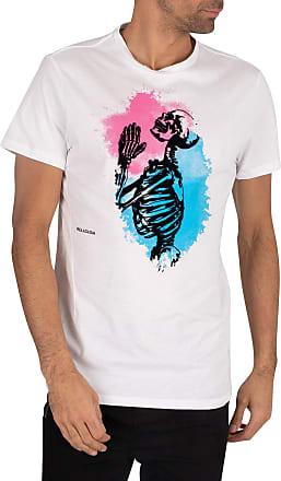 Religion Mens Splash TEE T-Shirt, White (White 013), X-Large (Size:XL)