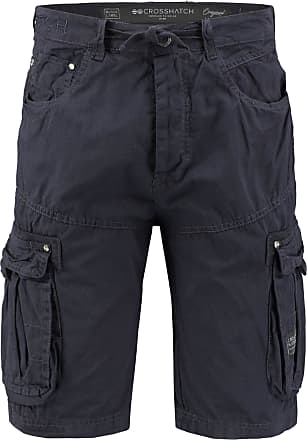 Crosshatch Mens Norbury Shorts, (Night Sky), W30