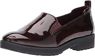 Anne Klein AK Sport Womens Believer Synthetic Loafer, Wine, 5.5 M US