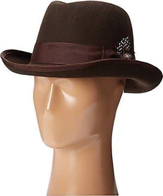 Stacy Adams Pacific Pinch Front Wool Felt Hat