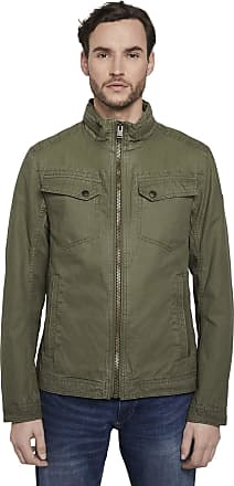 Tom Tailor Mens Cotton Touch Jacket, 13050-Olive Night Green, X-Large