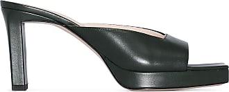 Wandler Mule Isa com salto 85mm - Verde