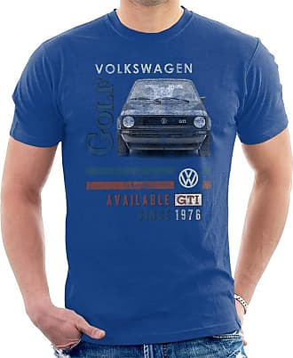 Volkswagen GTI 1976 Mens T-Shirt Royal Blue