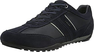 Geox Mens Wells 3 Fashion Sneaker, Navy, 40 EU/7 M US