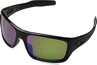 fa9bcce4925 Oakley Mens Turbine 0OO9263 Polarized Iridium Rectangular Sunglasses