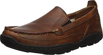 Timberland Mens Sandspoint Venetian Driving Style Loafer, Brown Full Grain, 10 Medium US