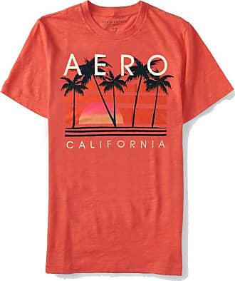 Aéropostale Camiseta Aeropostale Tamanho:GG;Cor:Laranja