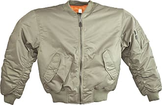 Mil-Tec Camo Outdoor MIL-TEC Classic Retro Military Mens Jacket Vintage Look Style OLIVE, SIZE XL