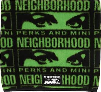 NEIGHBORHOOD Neighborhood Perks and mini neck warmer BLACK U