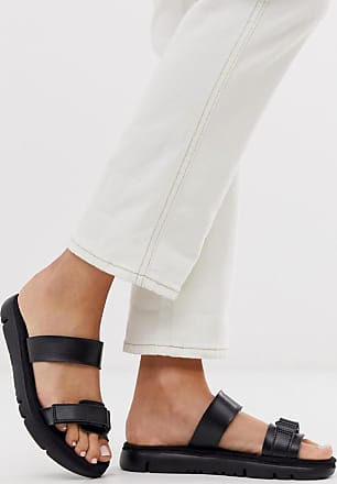 Camper strappy slider in black