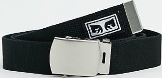 Obey Big Boy web belt in black