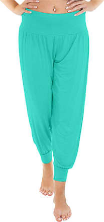Love my Fashions Womens Pants Trousers Alibaba Harem Ankle Cuff, Turquoise, XX-Large/XXX-Large