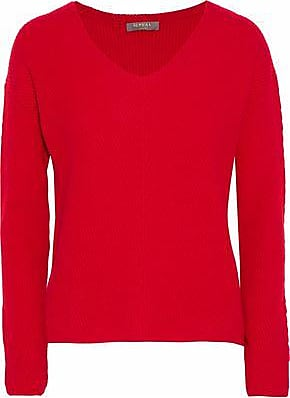 N.Peal N.peal Woman Ribbed Cashmere Sweater Red Size XS