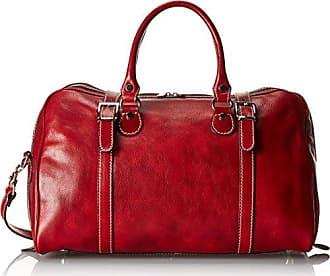 6773965d8761 Floto Luggage Trastevere Duffle In Weekender, Tuscan Red, Medium