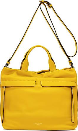 Gianni Chiarini large size duna shoulder bag color yellow