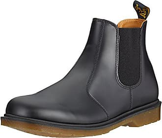 Dr. Martens 2976, Bottes Chelsea Mixte Adulte, Noir (Black Smooth), 78cc29180d85