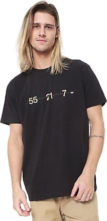 Osklen Camiseta Osklen Color 55 Preta