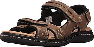 Dockers Mens Newpage Sporty Outdoor Sandal Shoe,Dark Tan, 12 M US