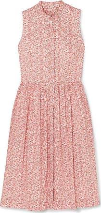 91f262253 J.crew Robin Ruffled Floral-print Cotton-poplin Dress - Red