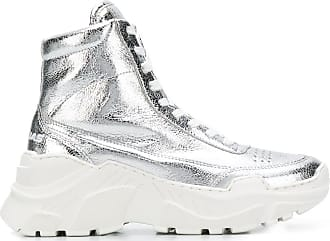 Joshua Sanders Donna High-Top-Sneakers - Silber