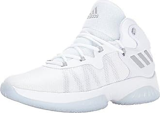 adidas Mens Explosive Bounce Basketball Shoes Grey Two White 3f5b098ff