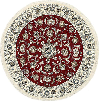 Nain Trading 149x151 Tappeto Persiano Nain Quadrato Beige/Marrone Scuro (Annodato a mano, Persia/Iran, Lana)