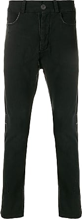 10sei0otto dropped crotch jeans - Preto