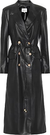 Nanushka Manila faux-leather coat