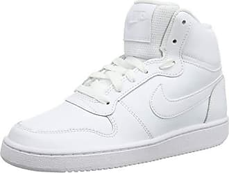 hot sale online 40281 7bbff Nike Ebernon Mid, Baskets Hautes Femme, Blanc (White 100), 38 EU