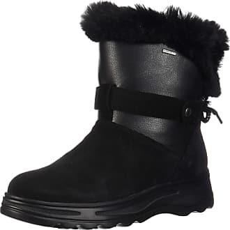 02481bfbb9d Geox Womens D Hosmos B ABX C Snow Boots, (Black/Dk Grey C0005