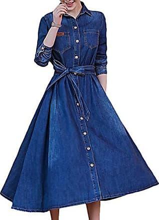 Blaues chiffon kleid kurz