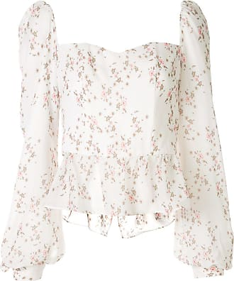 We Are Kindred Alice floral bustier blouse - White