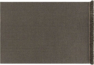 GAN Rugs Garden Layers Diagonal Teppich 90x200cm - aloe-grau/Handwebstuhl