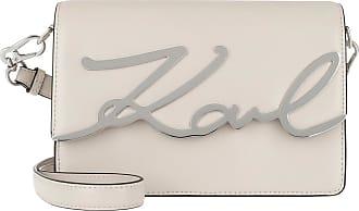 Karl Lagerfeld Signature Shoulderbag Hazelwood Umhängetasche beige