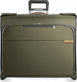 Briggs & Riley Baseline Deluxe Wheeled Garment Bag, Olive, Small
