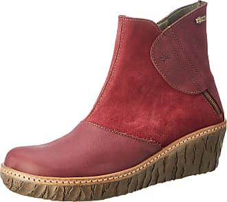El Naturalista Womens Myth Yggdrasil Ankle Boots, Red (Rioja Rioja), 8 UK