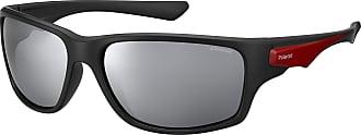 Polaroid Mens PLD 7012/S EX Sunglasses, Blck RED GLD, 63